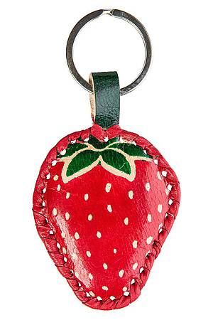 Key ring STRAWBERRY