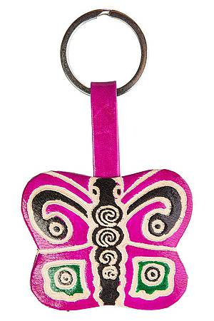 Key ring BUTTERFLY