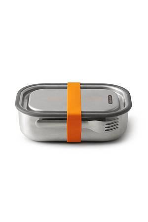 Edelstahl Lunchbox orange