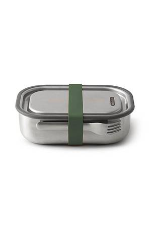Steel box (large) olive