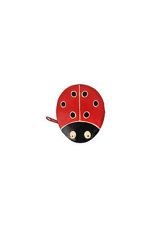 Leather purse LADYBUG