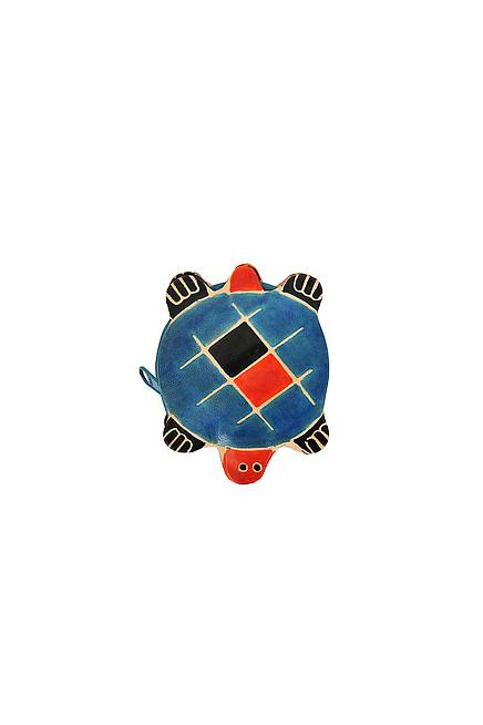 Leather purse TURTLE