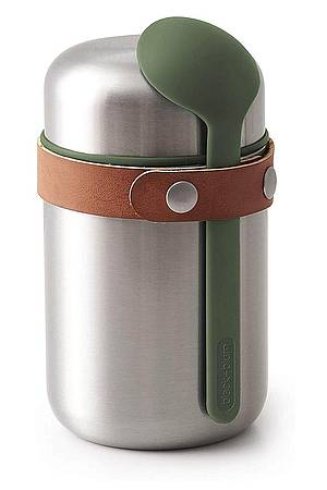 Edelstahl Thermobehälter Olive