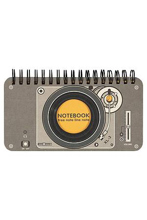 Notebook RECORD PLAYER