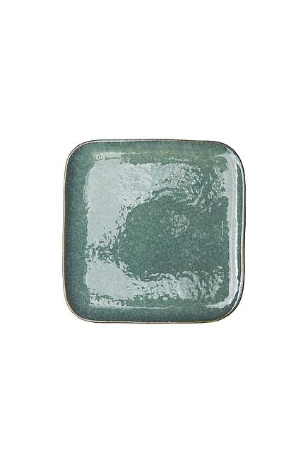 Plate INDUSTRIAL 21 cm emerald