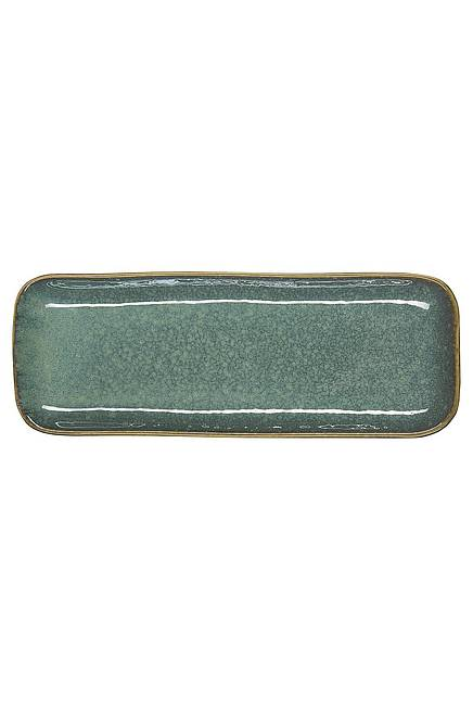 Plate INDUSTRIAL 25,5 cm emerald