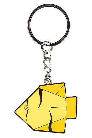 Key ring ORIGAMI FISH