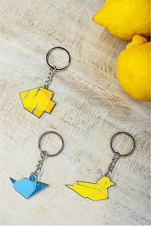 Key ring ORIGAMI DUCK