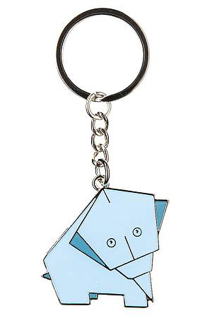 Key ring ORIGAMI ELEPHANT