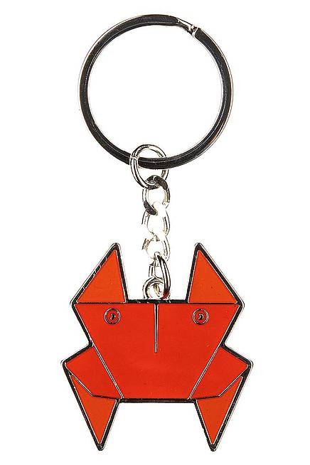 Key ring ORIGAMI CRAB
