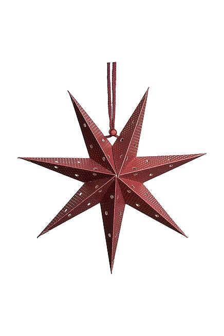 Paper Star punched 20 cm