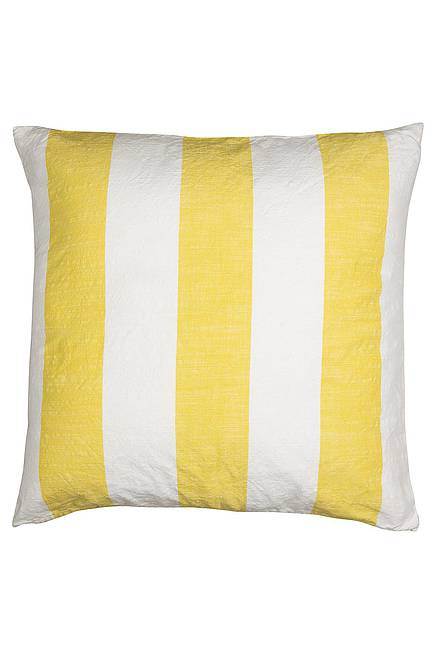 Cushion Cover STRIPES lemon