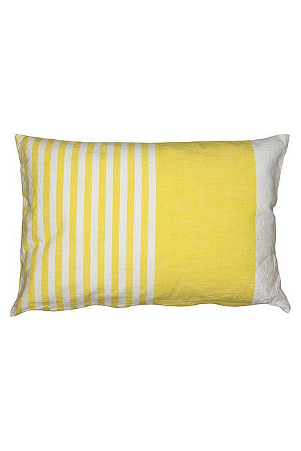 Kissenbezug STRIPES lemon