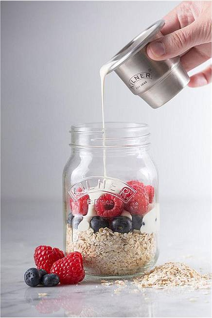 Snack‑on‑the‑go-Glas (Kilner) 500 ml
