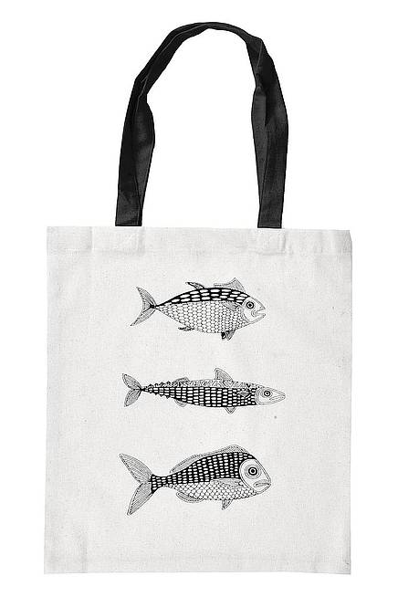 Cloth bag FISH