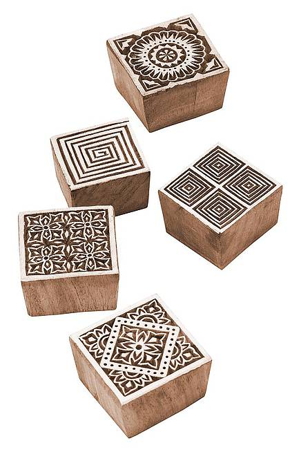 Wooden stamp Square