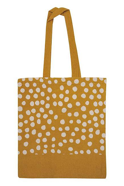 Stoffbeutel DOTS YELLOW